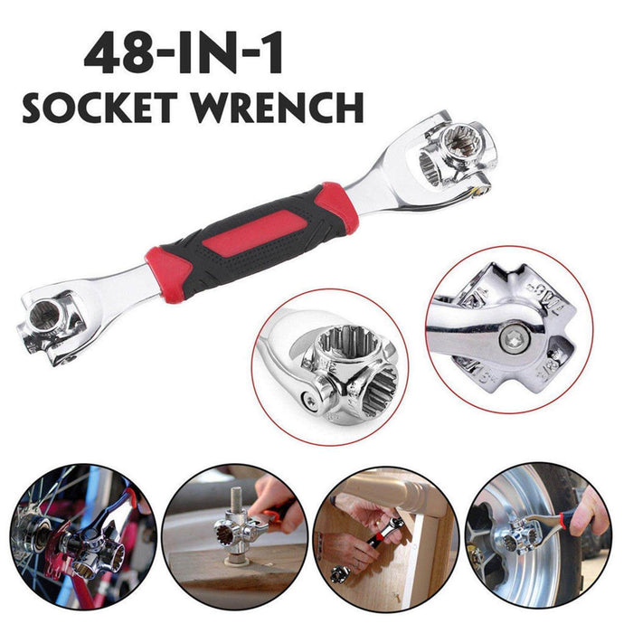 48 in 1 Universal Socket Wrench (with free Multi Purpose Screwdriver)