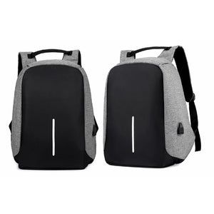 Anti Theft Backpack with USB Connector