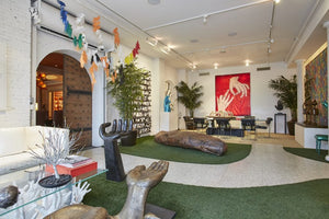 Whimsy and luxury collide in this $19M Soho loft filled with a hand-themed art collection