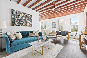 A smart renovation made this $1.35M Upper West Side pre-war co-op feel like a 21st century home