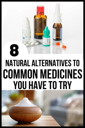 Many common medicines that we use on a regular basis can contain unnatural and potentially harmful ingredients