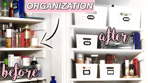 Organizing my bathroom & decluttering! Marie Kondo made me do it