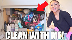 Hey friends! I have a new #cleanwithme cleaning out under my bathroom sink! It is a complete disaster! So happy it's decluttered and organized! ✿ Give this ...