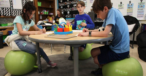 Wobbly chairs and rolling desks: Schools are rethinking classroom design to encourage creativity