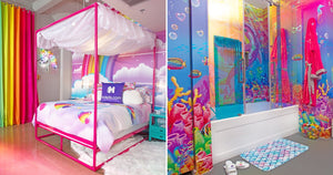 You Can Stay in This Lisa Frank Hotel Room, Where the '90s Nostalgia Runneth Over