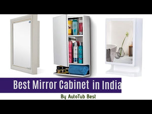 Check Latest Updated List of Top 7 Best Bathroom Mirror Cabinet in India 2020 #bathroom_cabinets ▻1