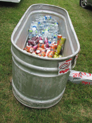 Perfect Concept Large Galvanized Tub