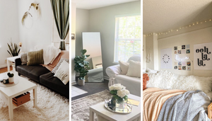 Looking for the best ways to utilize the space in your small apartment? Here are 21 small apartment ideas that will make your apartment seem way bigger than it actually is!