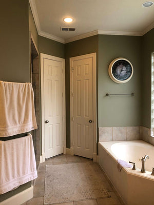 BEFORE AND AFTER - See This Bathroom's Beautifully Serene Remodel!