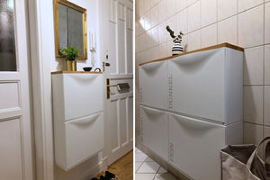 IKEA TRONES shoe cabinet perfect for the bathroom and hallway
