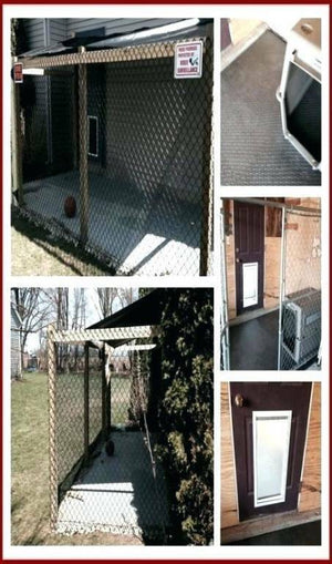 Fabulous Homemade Dog Kennel