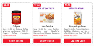Over $128 in New ShopRite eCoupons – Save on Folgers, Lean Cuisine, Pepperidge Farm & More