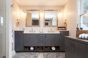 Bathroom Vanities: Built-in, Floating, or Furniture-Style?