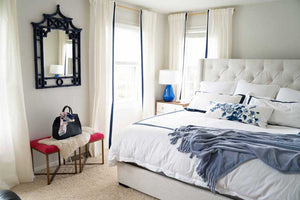 Master Bedroom Updates and Plans: Looking for some inspiration for your master bedroom? See what tiny changes we've made that have made a big impact, plus what we're planning on DIYing in the next few months!