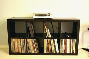 Breathtaking Vinyl Record Storage Shelf