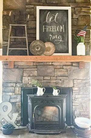 Brilliant Fireplace Wall Decor