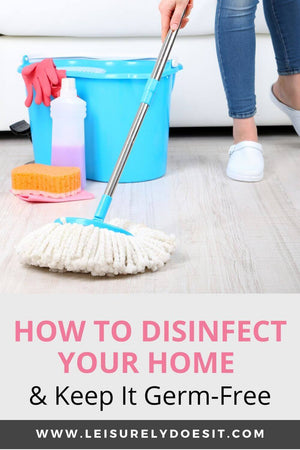Learn how to disinfect your house and keep your family safe from the flu or other viruses.