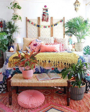 Home Decorating Ideas Bohemian What Is Hot On Pinterest: 5 Top Boho Bedroom Décor – Watercolor Muse: Creative …