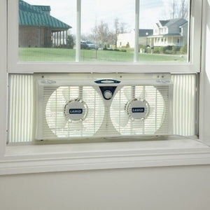 Tempting Twin Window Fan