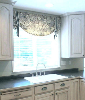 Fancy Contemporary Kitchen Curtains