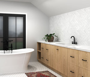 Designer's Fav: Jaw Dropping IKEA Bathroom