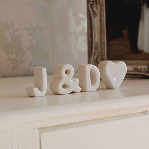 Fresh Decorative Standing Letters