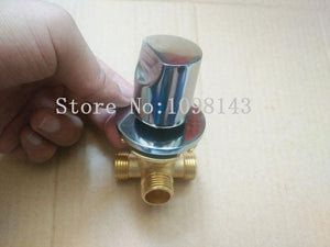 1 In 2 Out Conceal Install shower mixing valve , Concealed bathroom cabinet set shunt valve, Faucet water segregator mixer