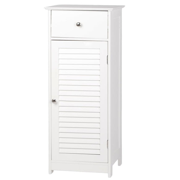 FCH One Door & One Drawer Bathroom Cabinet White