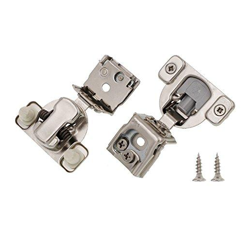 1-1/4  Overlay Soft Close Face Frame 105 Compact Cabinet Hinge (50)