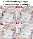 Get 4 pack adjustable drawer dividers organizer separators good grips dresser organizer for bedroom bathroom closet baby drawer desk kitchen storage