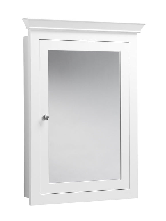 Try ronbow edward 27 x 34 transitional solid wood frame bathroom medicine cabinet with 2 mirrors and 2 cabinet shelves in white 617026 w01