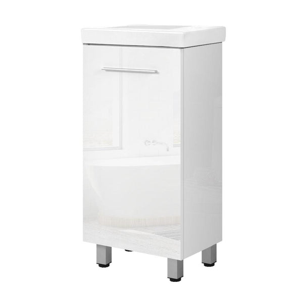 Cefito Bathroom Vanity Cabinet Unit Wash Basin Sink Storage Freestanding 400mm White