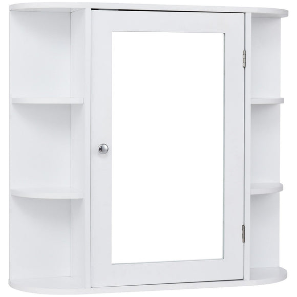Multipurpose Mount Wall Mirror Bathroom Storage Cabinet