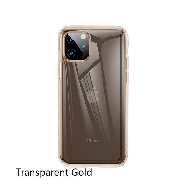 Shockproof Transparent Protective Case For iPhone 11 Cover For iPhone 11 Pro Max Case For iPhone 11 Pro Xs Max Soft Silicon Case