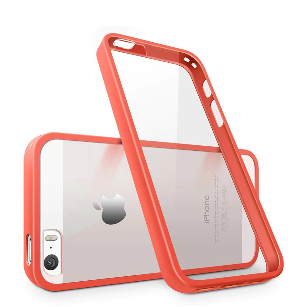 Acrylic Transparent Protective Flexible Bumper Case For iPhone 5s Case SE Slim Anti-Knock Case For iPhone 5 Cover Anti-Scratch Clear Back Cases