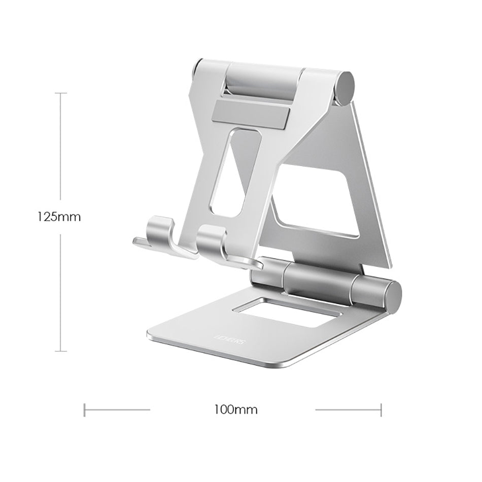 Adjustable Angle Aluminum Tablet Stand For iPad Desk Stand Universal Table Holder For iPad 7.9 9.7 Alloy Desktop Stand For Positioning Tablet For Videocalls etc