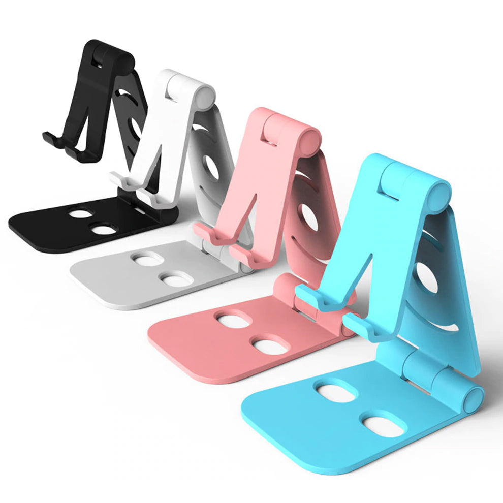 Adjustable Mobile Phone Holder For iPhone Phone or iPad Tablet Desk Stand Universal Folding Stand for Mobile Phones