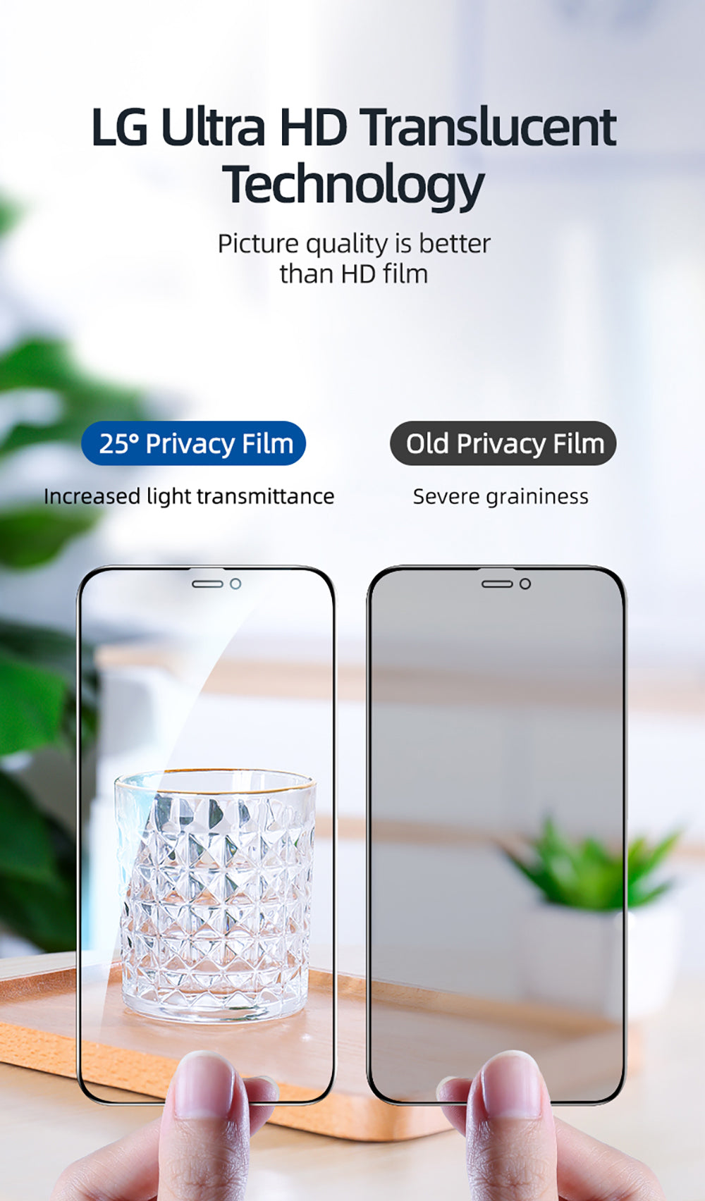 Anti Spy Anti Glare Private Screen Protector For iPhone 12 11 Pro Max X XS MAX XR Tempered Glass Clear Front Film For iPhone 12 Mini Privacy Glass
