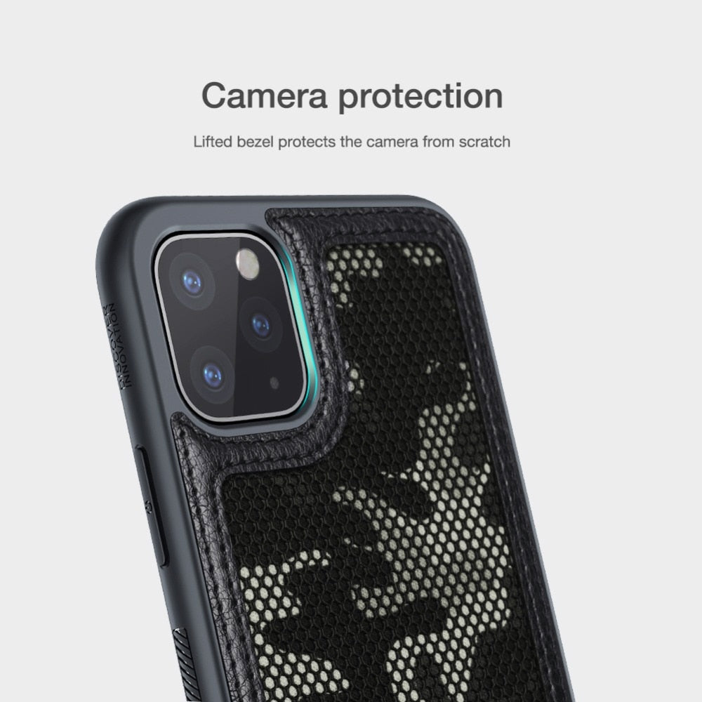 Army Green Camo Mesh Grid Phone Case for iPhone 11 11 Pro Max Case Back Cover Ultra-Thin Soft Protective Bumper Military Phone Case for iPhone 11 Pro Max