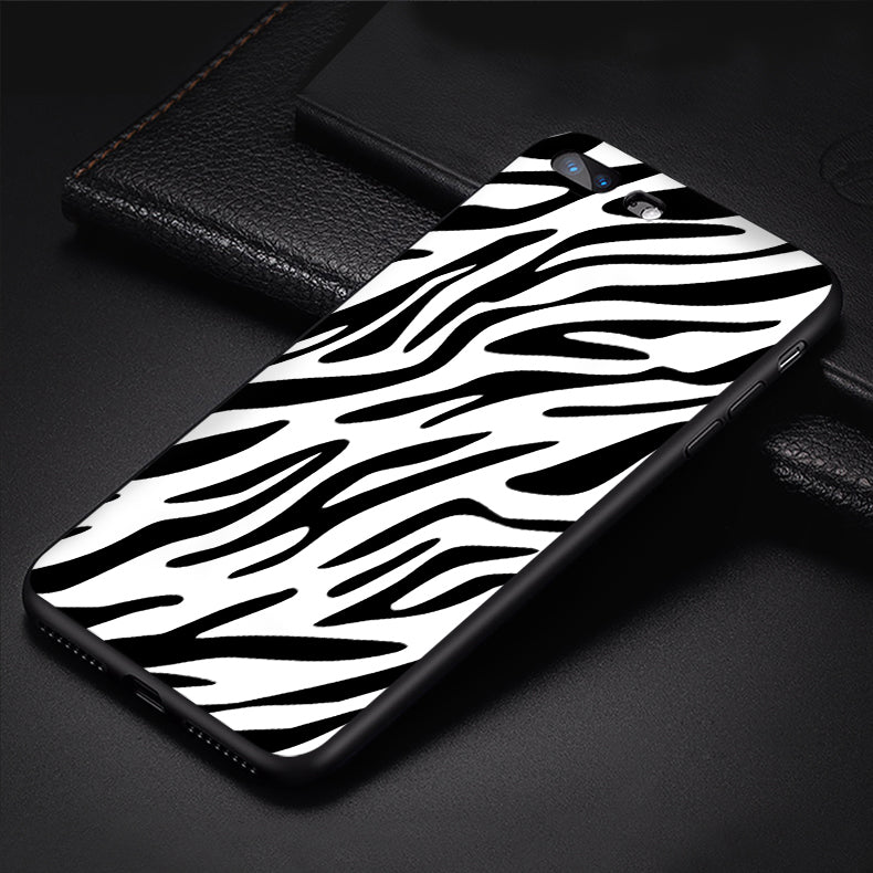Exotic Animal Phone Case Crocodile Snake Skin Zebra Leopard Print Phone Cases For iPhone 6 6S 7 8 Plus X XS XR XS MAX Print Soft TPU Silicone Back Cover