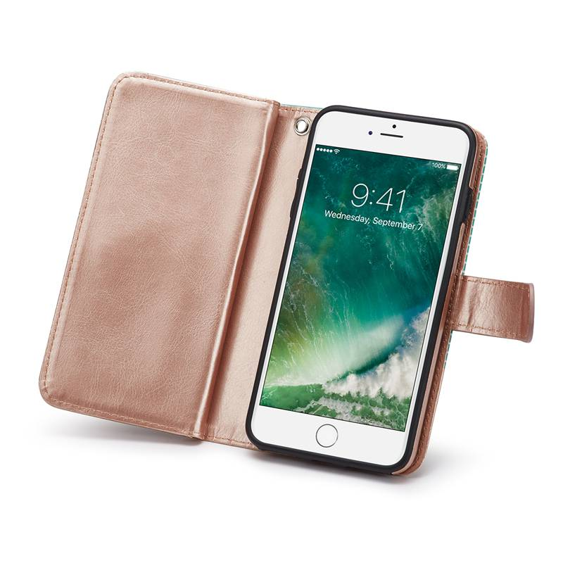 Girls Handbag Wallet Card Holder Case For iPhone 6 S 7 8 Plus X XR XS Max Flip Case Cover PU Leather Phone Pouch For Women For iPhone 6S 7 8 Plus