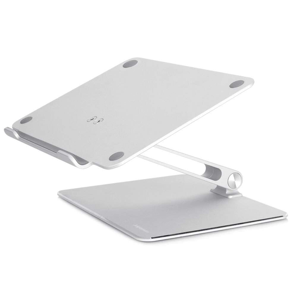 """Height Adjustable Stand For MacBook Pro Desktop Stand Ergonomic Angle Adjustment Design Constructed From Solid Aluminum Alloy Suitable For Laptops Up To 17"""""""