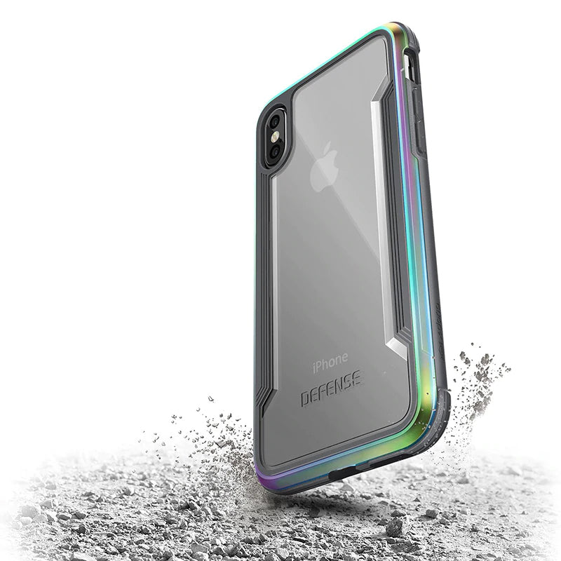 Hybrid Ultra Aluminium Phone Case For iPhone XS X Military Grade Drop Protection Case For iPhone X With Machined Aluminum Protective Cover