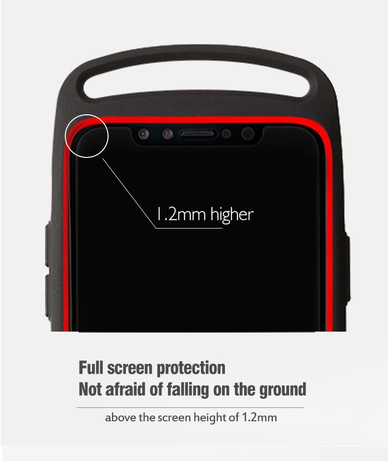 Latest Design Hybrid Armor Case For iPhone 11 Pro MAX Heavy Duty Shockproof Case For 11 X XS Max XR 8 7 Plus Rugged Phone Case For iPhone
