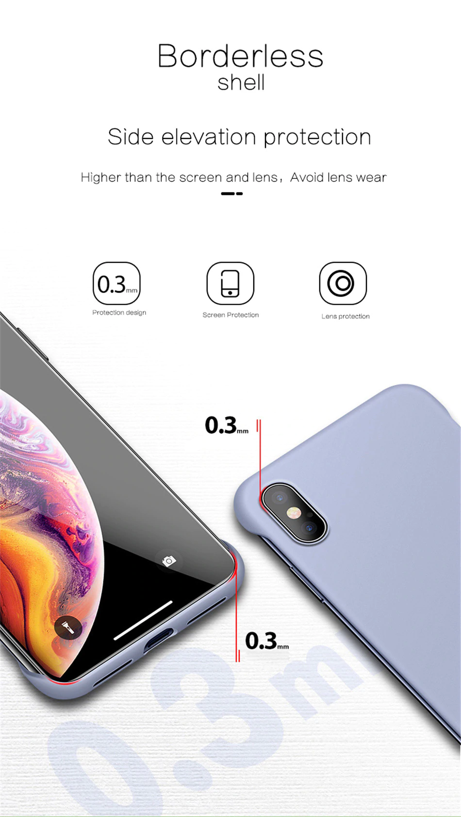 Lightweight Borderless Phone Case For iPhone 11 6 6S 7 8 Plus XR X XS 11 Pro Max Hard PC Solid Matte Frameless Breathable Protective Back Cover for iPhone