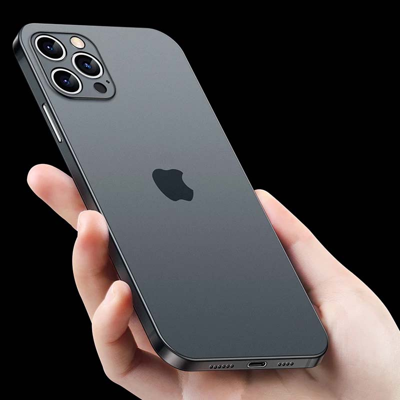 Lightweight Ultra Thin 0.2mm Hard Matte Shockproof Case For iPhone 13 12 Mini X XR XS 11 Pro Max Full Cover For iPhone 7 6 6s 8 Plus Slim iPhone Case