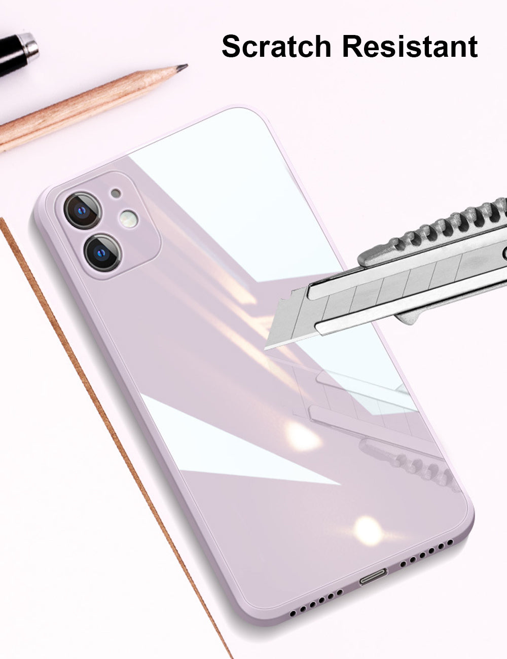 Liquid Glass Phone Case For iPhone 11 12 Pro Max XR X XS Max SE 2020 8 7 6s Plus Tough Scratch-Resistant Tempered Back Cover Soft Frame Case for iPhone