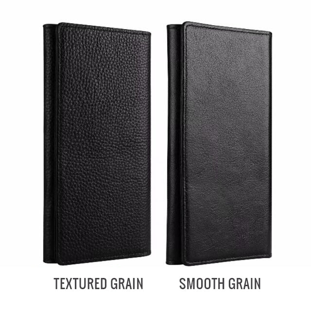 Luxurious Real Leather Phone Card Holder Wallet Case For iPhone 11 Pro Max 6s 7 8 Plus X Xs Max Wallet Genuine Leather Executive Style Flip Case For iPhone