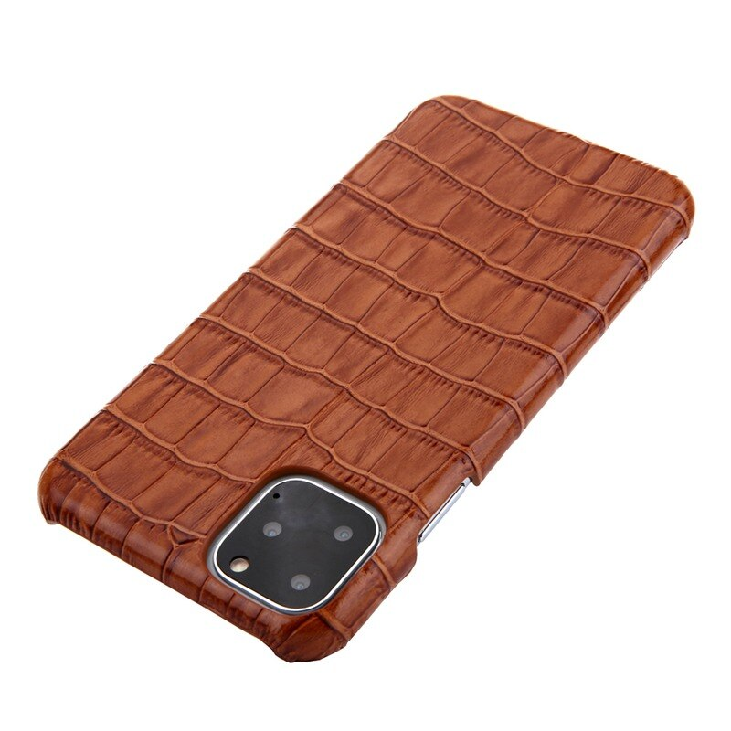 Luxury Alligator Case For iPhone 11 12 Pro MAX Mini 12 Mini SE 2020 7 8 Plus 12 Pro 11Pro X XR XS Max Case Real Cow Hide Leather Back Cover Case For iPhone