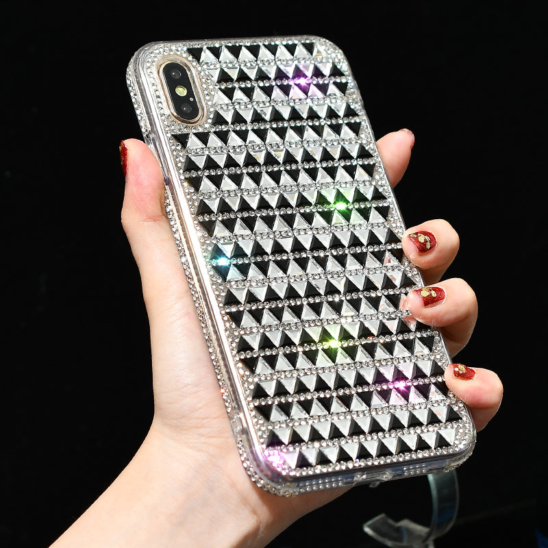 Luxury Bling Fashion Glitter Diamond Rhinestone Case For iPhone XS Max XS X Cases For iPhone 6s 7 8 Plus Sparkling Sequins Cover For iPhone XR Case